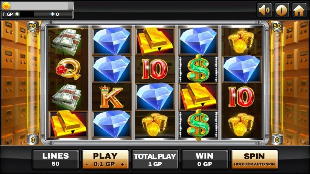 รีวิวเกมสล็อต MoneyVault