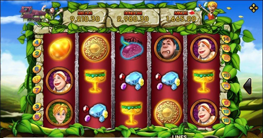 เกมสล็อต Beanstalk