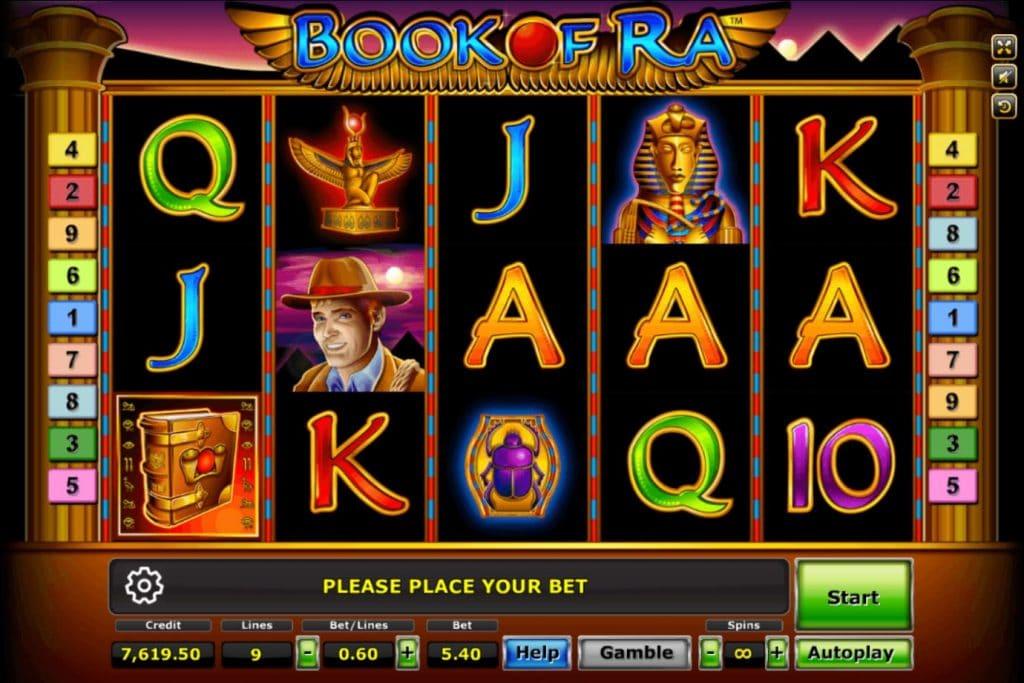 เกมสล็อต Book Of Ra