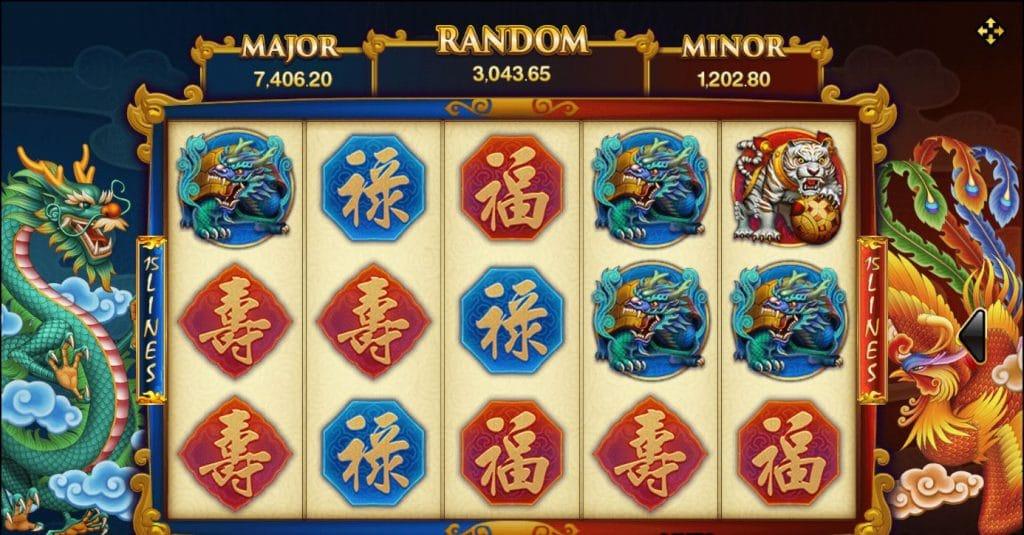เกมสล็อต Dragon Phoenix