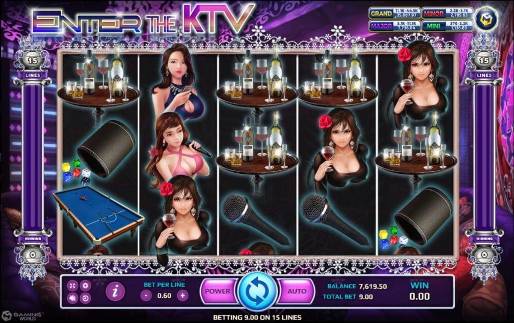 เกมสล็อต Enter The KTV