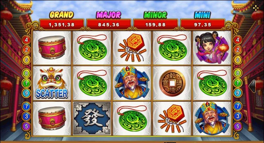 เกมสล็อต Lucky God Progressive 2