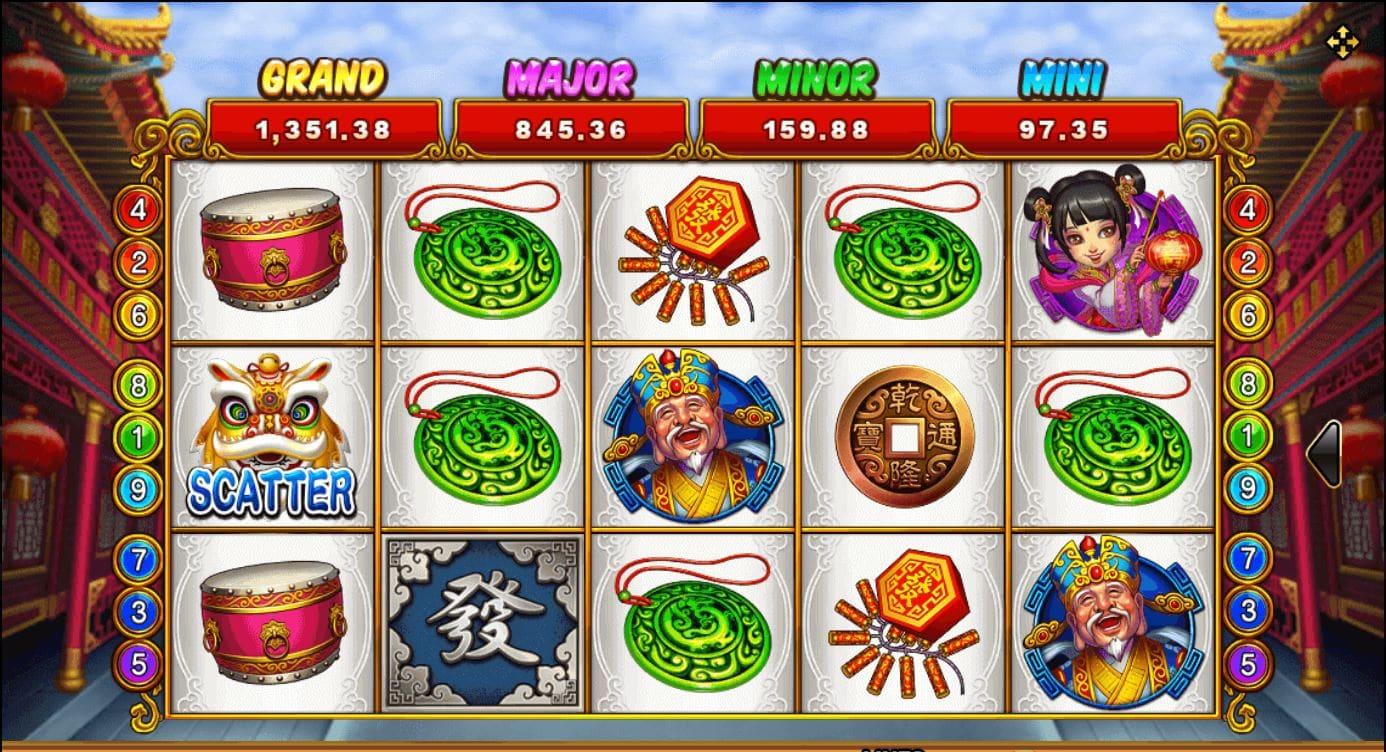 เกมสล็อต Lucky God Progressive 2 - Slotxo สมัครวันนี้รับเครดิตฟรี 50% ฟรี