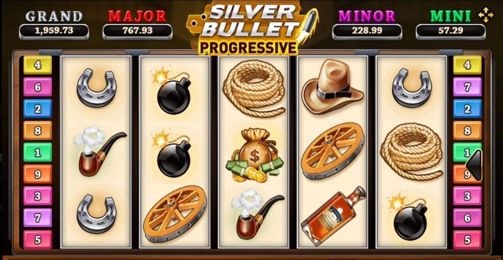 เกมสล็อต SilverBullet Progressive