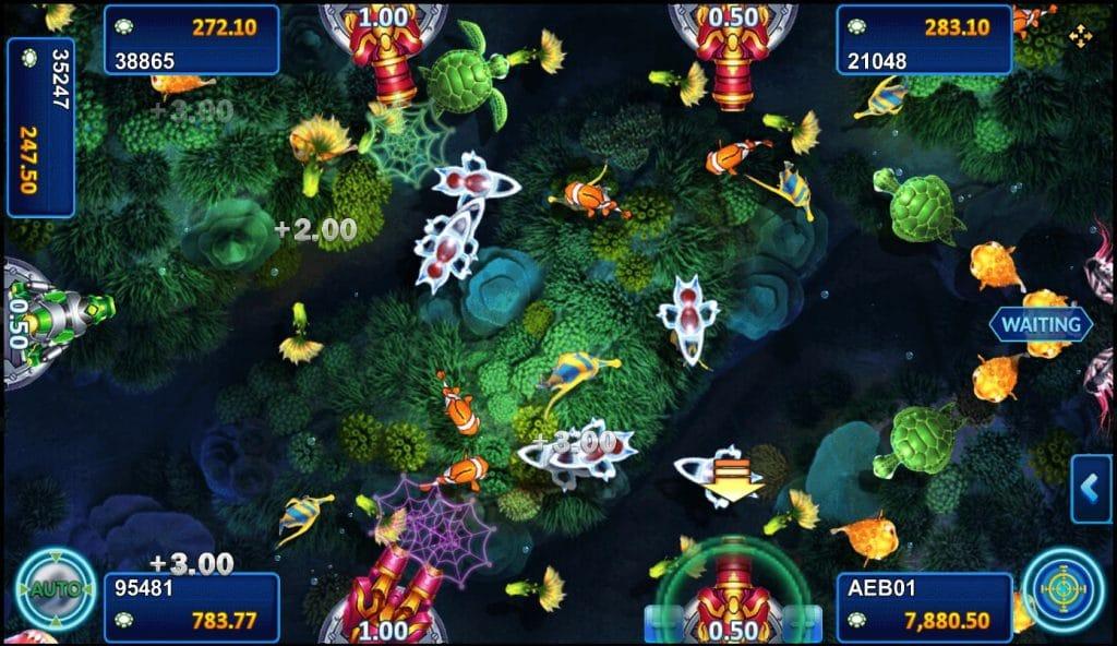 เกมสล็อต Fish Hunting: Happy Fish 5