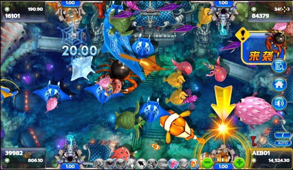 เกมยิงปลา Fish Hunter 2 EX – Newbie