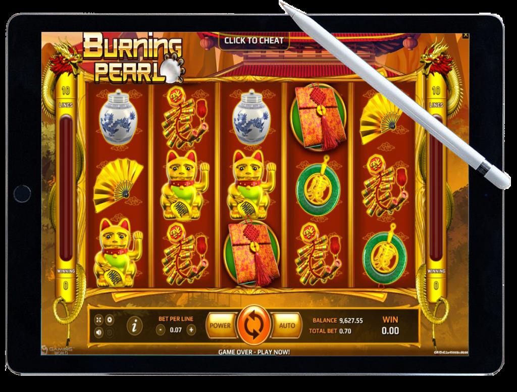รีวิว เกมสล็อต Burning Pearl
