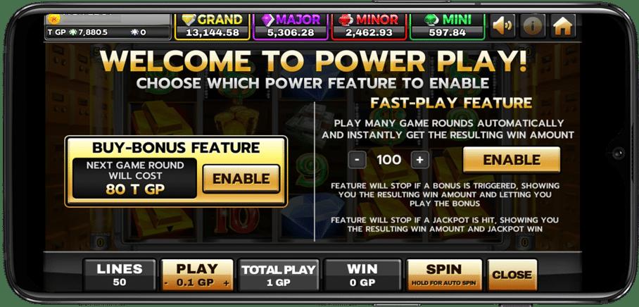POWER เกมสล็อต