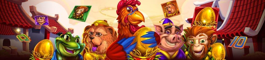 รีวิว เกมสล็อต Lucky Rooster