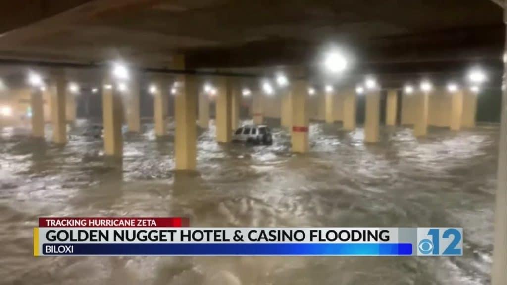 คาสิโน Mississippi Gulf Coast เรียกร้องการซ่อมแซม พายุเฮอริเคน